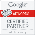 Google Adwords Certified Partner, Click to Verify